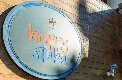 Happy Stubai Hotel Neustift Tirol Stubaier Gletscher Österreich Hostel Frühstück Kulinarium Gourmet