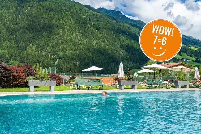 Schnäppchen Tage Sommer Happy-Price-days-Happy-Stubai-Neustift-Tirol-Hotel