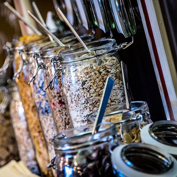 Happy Stubai Hotel Hostel Neustift Stubai Valley muesli cereals
