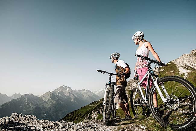 Biking - Stubai Valley - Tyrol - Happy Stubai