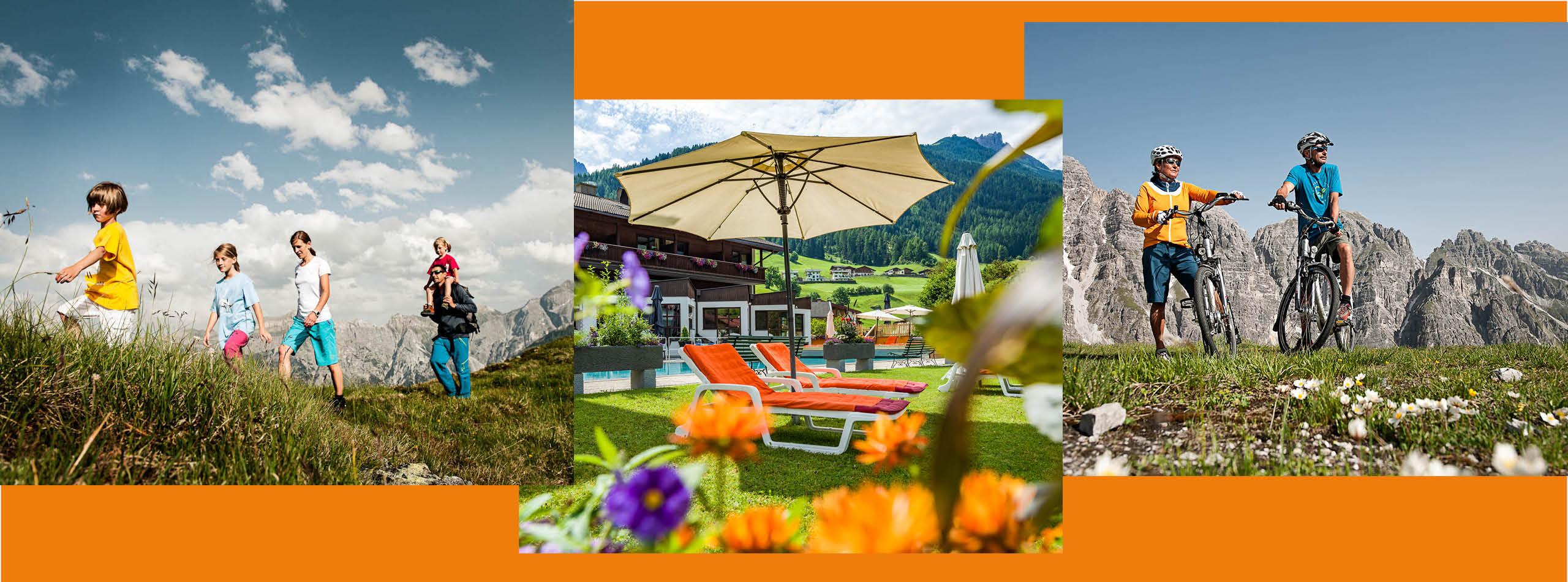 Pauschalen & Angebote im Sommer im 4-Sterne-Hotel Happy Stubai