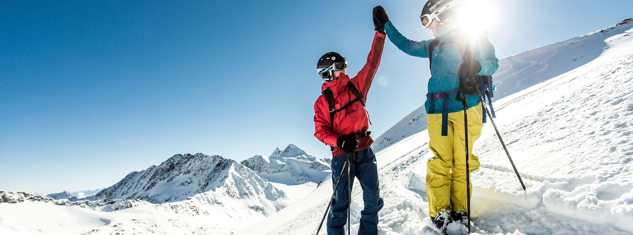 Skiurlaub im 4-Sterne-Hotel Happy Stubai Gletscherski